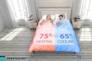 SmartDuvet Bed Cooling and Heating System width=