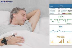 Bodimetrics O2 Vibe Sleep and Fitness Monitor