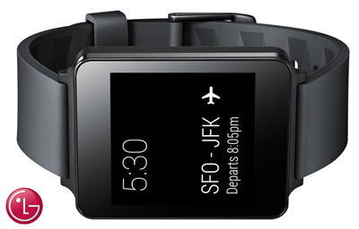 LG G Smartwatch - 37.9mm