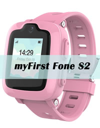 myFirst Fone S2 - 3G Smartwatch with GPS