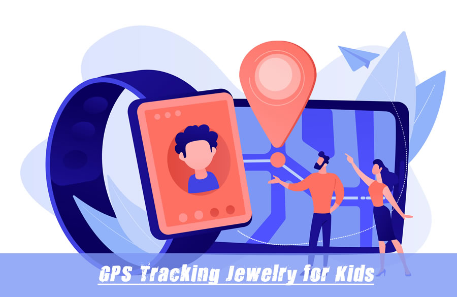 GPS Tracking Jewelry For Kids