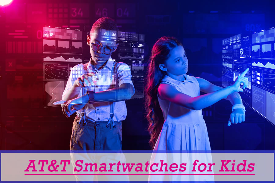 AT&T GPS Smart Watches for Kids