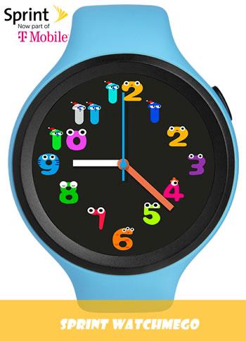 Sprint - WatchMeGo Kids Smart Watch
