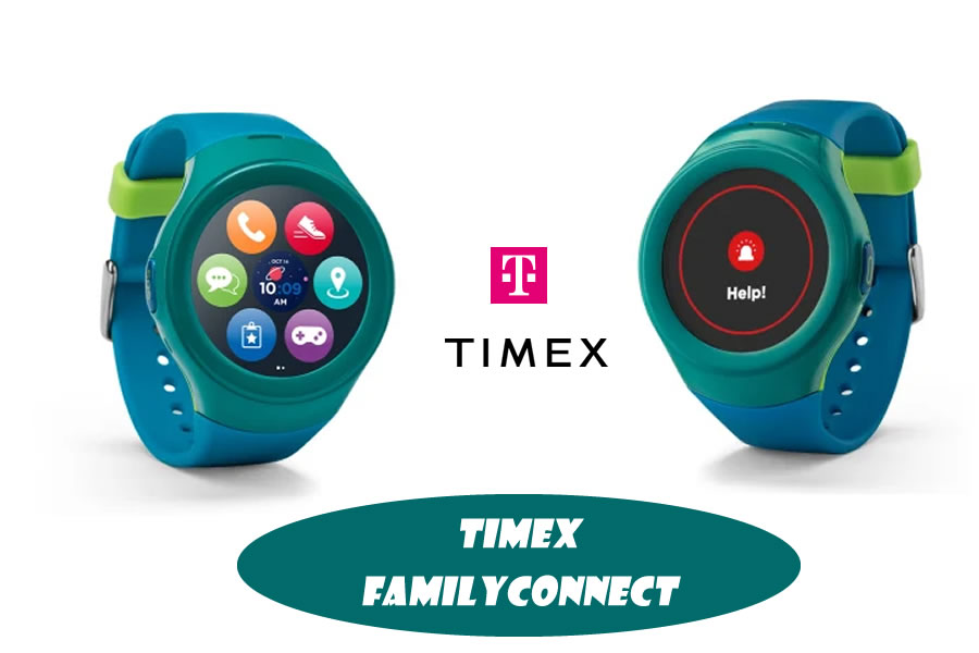 T-Mobile - Timex FamilyConnect Smartwatch for Kids