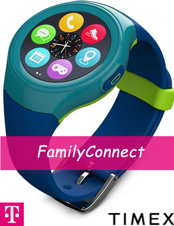 Timex FamilyConnect Kid Smartwatch for T-Mobile