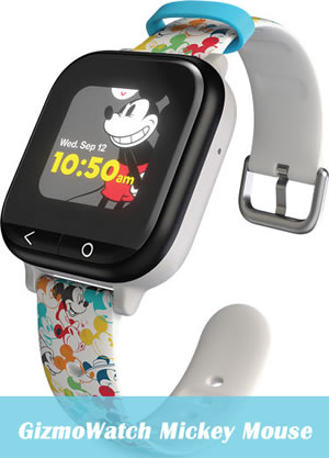 Verizon GizmoWatch Mickey Mouse Version
