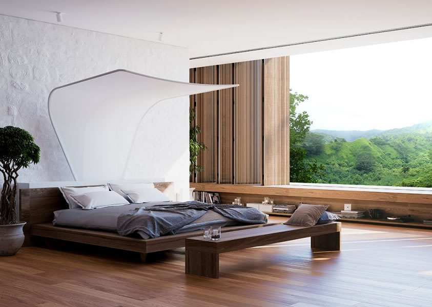 Evening Breeze - Air condition system that cools bed area